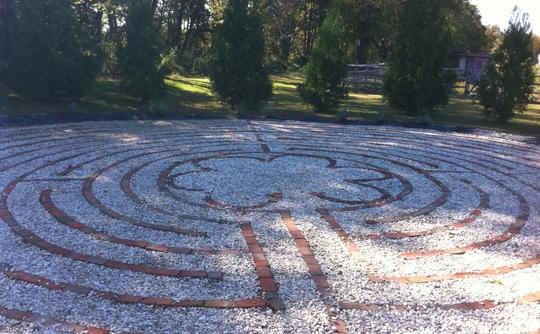 The Labyrinth at Lavendar Fields