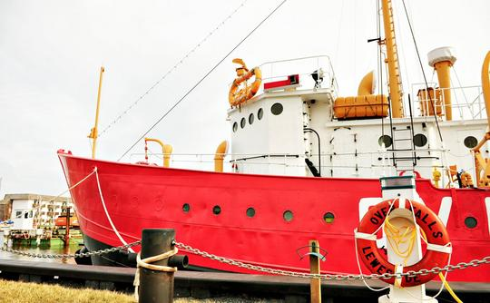The Overfalls Lightship