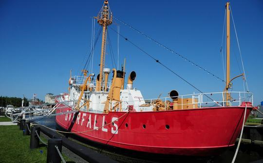 Overfalls Lightship Museum