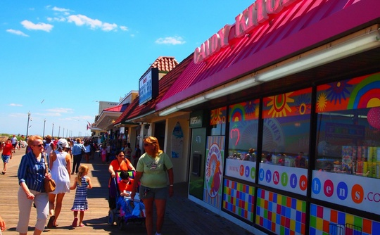 Candy Kitchen on Rehoboth Beach Boardwalk